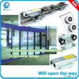 Operador telescópico de la puerta deslizante de los mejores vidrios chinos
