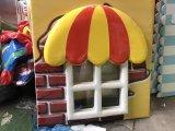 Спортивная площадка пластмассы LLDPE малышей крытая для детей Preschool
