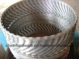 Изготовление колючей проволоки бритвы фабрики оптовое