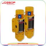 5t Hijstoestel van de Kabel van de Draad van de monorail het Elektrische met Dubbele Snelheid/Elektrisch Hijstoestel