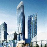 Glace Inférieure-e isolée bleu-foncé de haute performance pour la construction