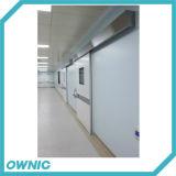 Portello scorrevole ermetico dell'ospedale del prodotto Qtdm-4 di progetto di strada e della cinghia