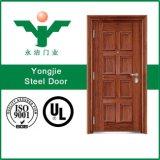 Porte d'oscillation de garantie d'acier inoxydable de porte de sûreté d'entrée principale