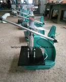 Máquina de carimbo quente vincando de couro com guia da folha (Tam-310-L)
