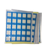 Veranderende Sticker van de Kleur van de temperatuur de Warmtegevoelige