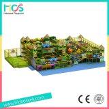 子供のためのジャングルのスタイルレクリエーションセンターソフト遊具