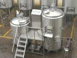 Planta micro brillante del equipo de la cervecería del tanque de la cerveza y de la fermentación del acero inoxidable