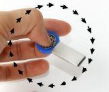 Vara instantânea da memória do USB 2.0 do metal da movimentação 4GB 8GB 16GB 32GB do flash do USB do girador do dedo de Trangee 360 graus que giram Pendrives (TF-0228)