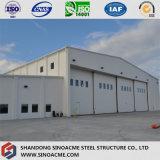 Construction de bâti en acier préfabriquée pour la bride de fixation d'avions
