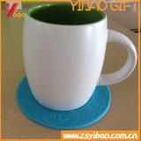Debossed 로고 순수한 색깔 컵 뚜껑을%s 가진 음식 급료 실리콘