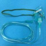 Las ventas directas de la fábrica perfeccionan la máscara de oxígeno disponible modificada para requisitos particulares calidad en color verde/transparente