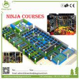 Arena de salto libre del trampolín, curso de Ninja, corte olímpica del trampolín