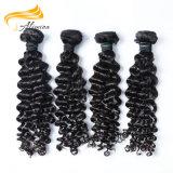 Человеческие волосы девственницы большой волны рабата глубокой сырцовые камбоджийские