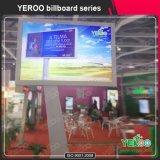 Banner de la energía solar de la flexión Billboard - marco al aire libre de la cartelera - exhibición del anuncio