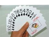 Новым изготовленный на заказ покер напечатанный логосом бумажный