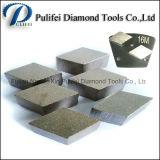 금속 패드에 대한 다이아몬드 연마 세그먼트 연마 콘크리트 바닥 표면