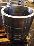 El acero de carbón del acero inoxidable SAE1045 forjó la funda del eje