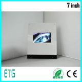 Personalizar Pantalla LCD 7 pulgadas Video Tarjeta de felicitación de pantalla táctil A4 / A5 Video Book Port USB Video