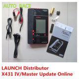 Mise à jour gratuite initiale d'outil de diagnostique de professionnel du lancement X431 IV par Internet