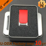 Flash relativo à promoção do USB do couro do presente das vendas por atacado (YT-5116-01L2)