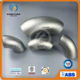 Ss Elbow 90d Lr Wp304 / 304L Pipe Fitting com CE (KT0067)