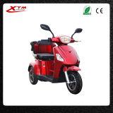 """Triciclo elétrico adulto do """"trotinette"""" da mobilidade da roda do pedal três"""