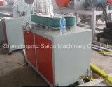 Chaîne de production ondulée plate en plastique contrainte d'avance de pipe de HDPE