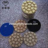 혁신 (80/100X10mm)를 위한 크롬 11 다이아몬드 대리석 지면 닦는 패드