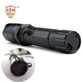 Policía de aluminio de autodefensa Linterna Taser pistola