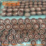 Molatura abrasiva rotonda del pneumatico della sfera originale della rotella di lucidatura del carburo