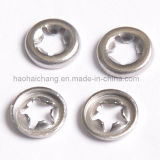 Home Appliance를 위한 주문품 Metal Electrical Star Lock Washer
