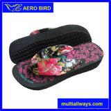 La nueva manera de EVA de las mujeres del tacón alto del deslizador de la sandalia para dama