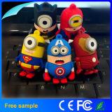 도매 아이들 선물 만화 앞잡이 USB 섬광 드라이브 2GB