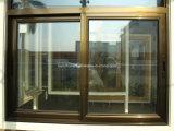Sul - vidro matizado cinzento Tempered complacente africano Windows de alumínio deslizante