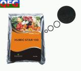 Fertilizante orgânico do pó do ácido Humic de 60%
