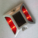 Aluminiumsolarstraßen-Stift des Datenbahn-Markierungs-reflektierender Katzenauge-LED