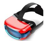 Vidrios de alta calidad 1080P, OS todo de la realidad virtual 3D del androide 5.1 en un receptor de cabeza de Vr, pantalla toda de 720p HD en un Vr