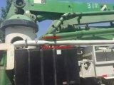 Verwendeter Putzmeister Betonpumpe-LKW mit 37m Hochkonjunktur-Länge
