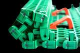 Bündiges Rasterfeld rutschfester hitzebeständiger modularer Converyor Plastikriemen