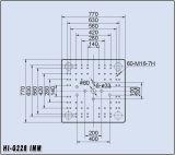máquina horizontal da modelação por injeção 228tons