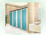 Partitions du bois de salle de bains de compartiment de choc de vente chaude anti