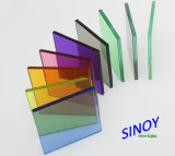 Stock Sheetの3mm - 12mm Clear Float Glass、Color Tinted Glass及びReflecitve Glass