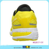 De gele Atletische Schoen van het Ontwerp voor Mensen