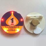Os emblemas claros feitos sob encomenda do Pin do diodo emissor de luz com logotipo imprimiram (3569)
