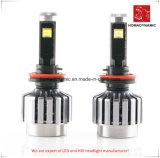 Luz do carro do diodo emissor de luz do farol 9004 do diodo emissor de luz com ventiladores
