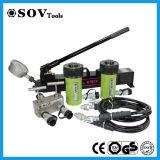 Cilindro hidráulico ativo barato de 15 toneladas do fornecedor de China único (SOV-RC)