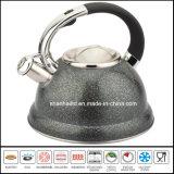 Cookware de los utensilios de cocina del conjunto de té del acero inoxidable del color de la caldera de té del crisol de la caldera del silbido 3L