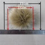 流行の擬似アライグマの毛皮の球POM Forgarment