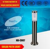 Indicatori luminosi alimentati solari di alta luminosità IP65 utilizzati in patio/giardino