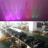 이동하는 맨 위 효력 빛이 최신 8X10W에 의하여 RGBW 4in1 LED Dicso DJ 빛난다